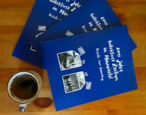 koZe-Broschüre Releasekneipe und -Party