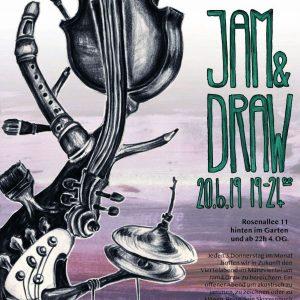 Jam & Draw beim Viertelabend