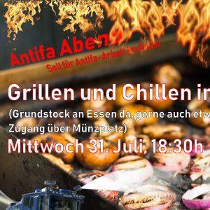 Antifa-Abend - Grillen & Chillen im Münzgarten