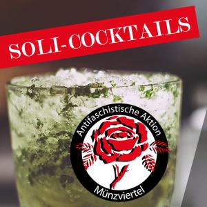Antifa-Abend | Soli-Cocktails auf Eis im Münzgarten
