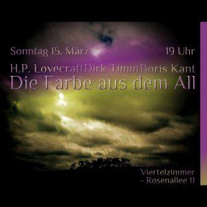Die Farbe aus dem All (H.P. Lovecraft) - Live vertonte Lesung